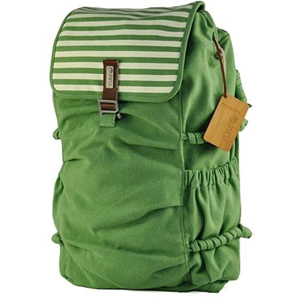 069784f6730b YUMC Melrose Meshok Canvas Backpack - Lime
